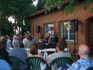house concert outside