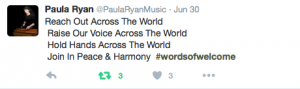 Paula Ryan #wordsofwelcome