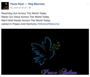 Paula Ryan #wordsofwelcome @regmeuross