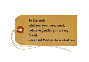 Rich Morton #WordsofWelcome @regmeuross