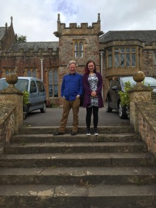 Reg Meuross & Laurie Shepherd - Halsway Manor songwriting workshop