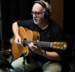 Ian Melrose plays guitar on Reg Meuross recording at Stockfisch Records