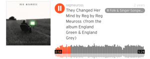They Changed Her Mind - Reg Meuross
