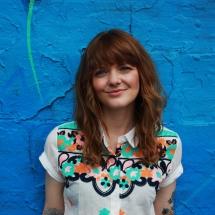 Jess Morgan blue pic